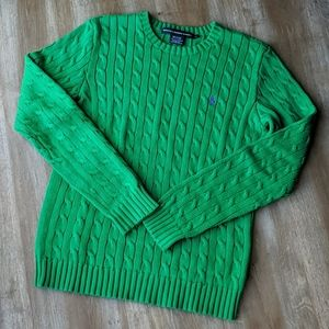 Ralph Lauren Sport Emerald Green Fisherman